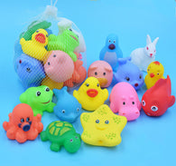 Baby Bath Toys Animal Rubber Toys - Shop For Gamers