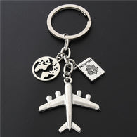 Earth Airplane Keychain - Shop For Gamers
