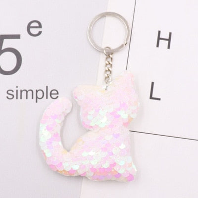 Glitter Rainbow Decor Keychains - Shop For Gamers