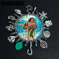Moana Charm Bracelet - Shop For Gamers