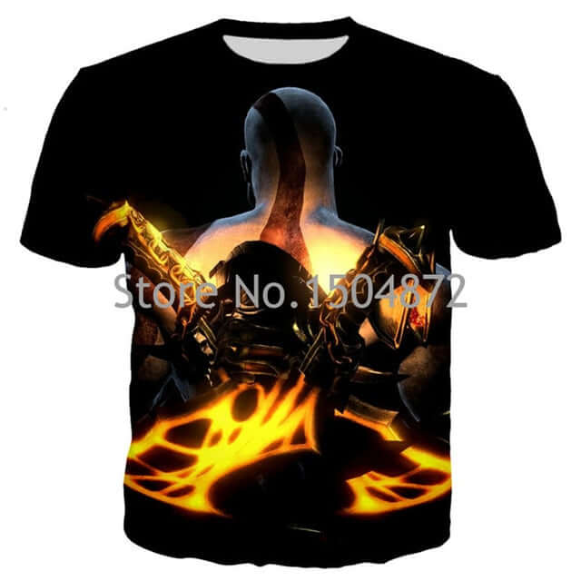 God Of War New Men/Women T-Shirt - Shop For Gamers