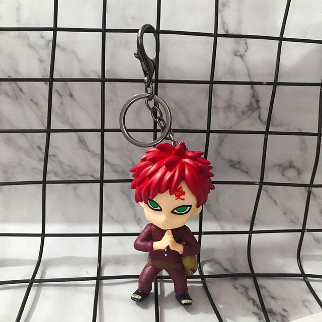 Cute Anime Naruto Characters Keychain - Shop For Gamers