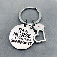 I'm A Nurse Keychain - Shop For Gamers