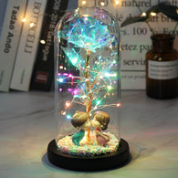 LED Enchanted Galaxy Rose Gift - Shop For Gamers