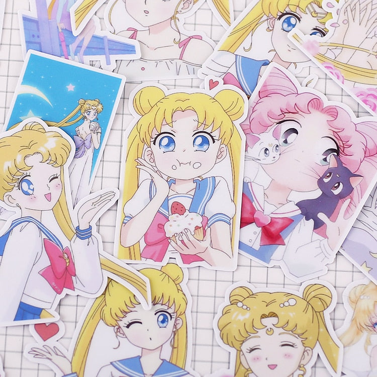 Sailor Moon Stickers - Shop For Gamers
