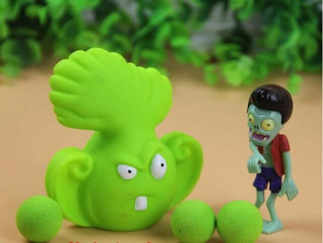 Plants vs Zombies Peashooter PVC Action Figure - Shop For Gamers