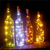 2m 20-LED Copper Wire String Light with Bottle - Shop For Gamers