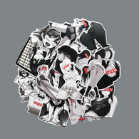 Black and White Bunny Girls Stickers - Shop For Gamers