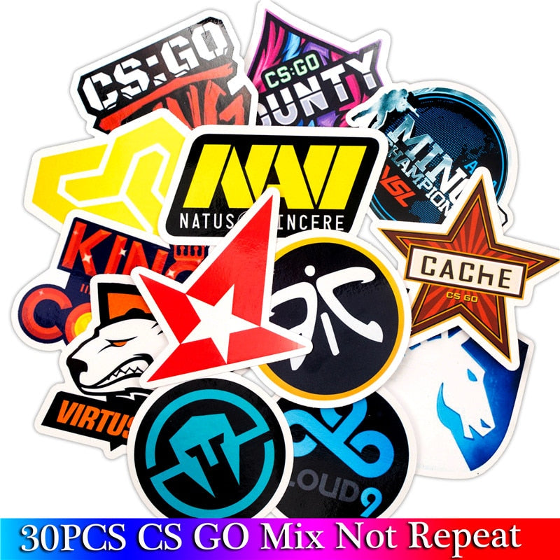 CS GO Game Stickers - Shop For Gamers
