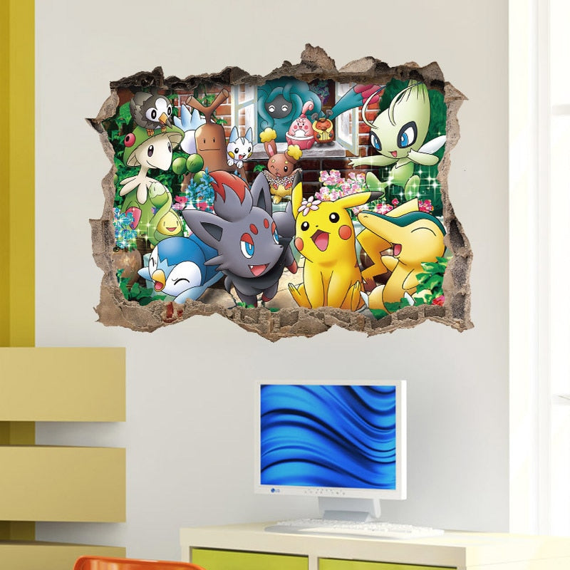 Pokemon Go Wall Sticker Poster - Shop For Gamers