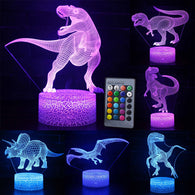 Dinosaur Figures LED Table Lamp - Shop For Gamers