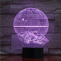 Star Wars Death Star LED Table Lamp - Shop For Gamers