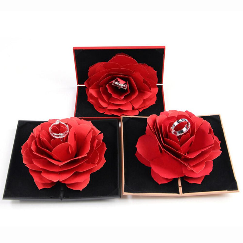 Red Rose Ring Box - Shop For Gamers