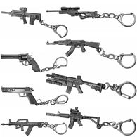 3D Simulation Gun Pendant Keychain - Shop For Gamers