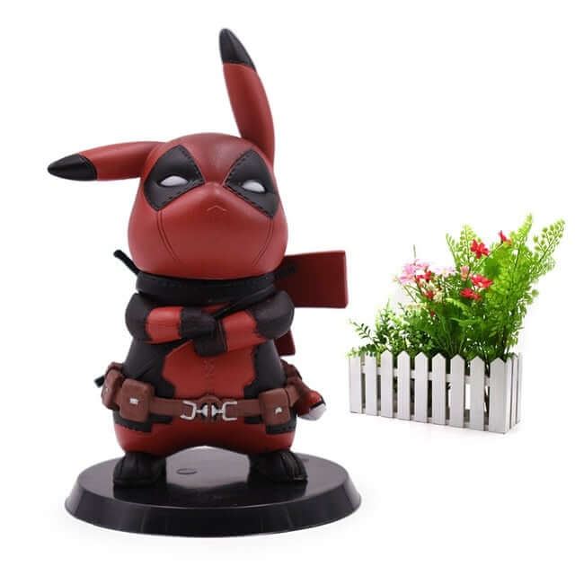 Deadpool Pikachu Cosplay Action Figure - Shop For Gamers