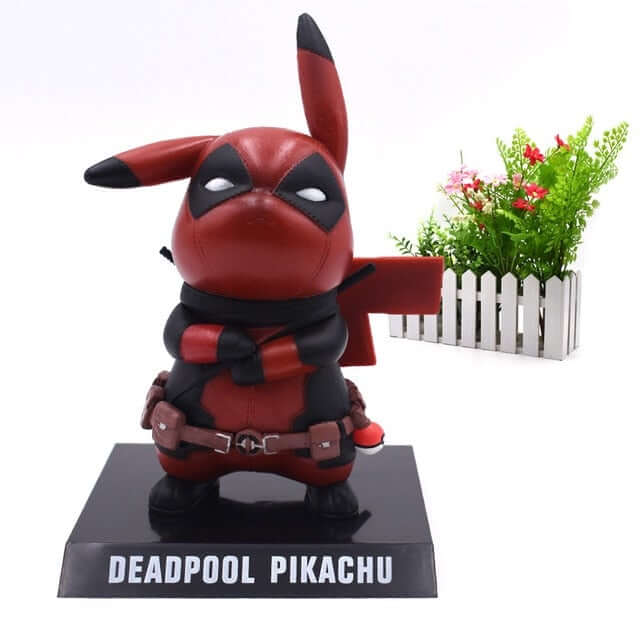 Cute Pikachu Cosplay PVC Action Figure - Shop For Gamers