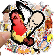 Japanese Anime One Punch Man Stickers - Shop For Gamers