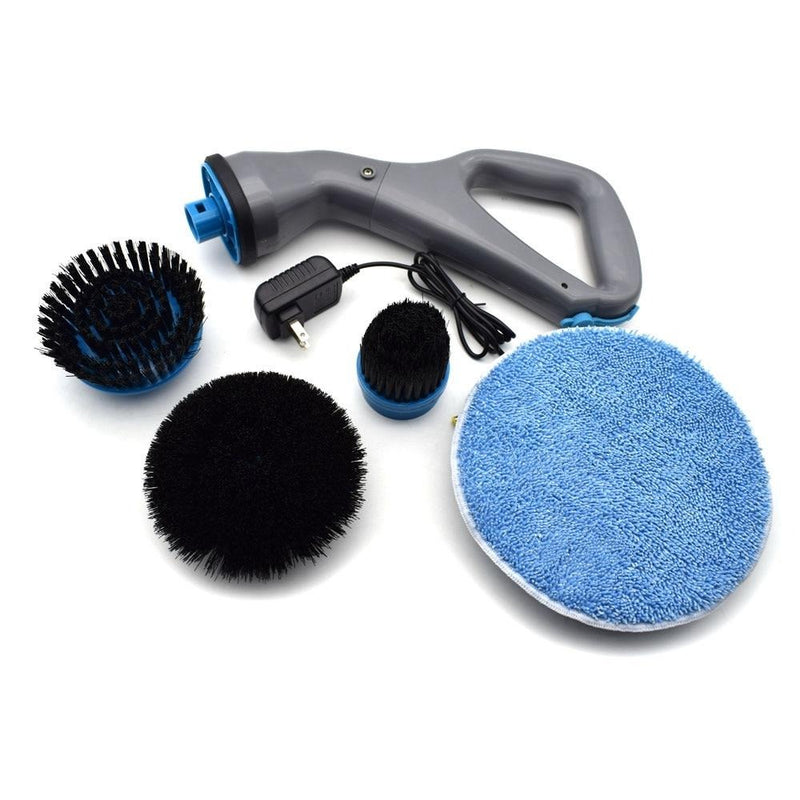 Electric Scrubber Brush Set Rechargable - Shop For Gamers