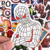 MARVEL Heroes Graffiti Stickers - Shop For Gamers