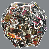Retro Gothic Style Color Stickers - Shop For Gamers