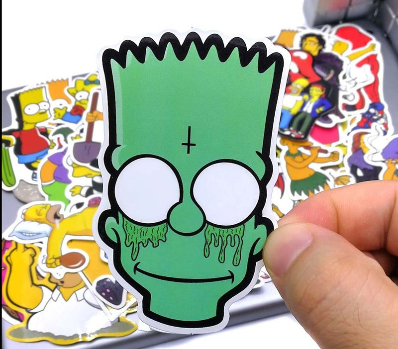Simpson Cartoon Stickers - Shop For Gamers