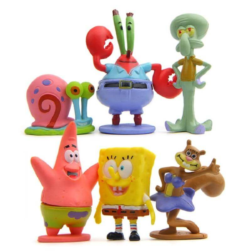 Spongebob Squarepants PVC Action Figures - Shop For Gamers