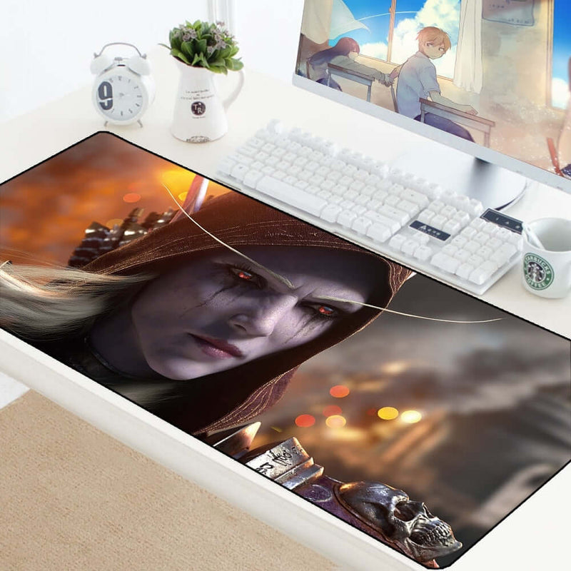 Sylvanas WOW Large Gaming Mouse Pad - Shop For Gamers