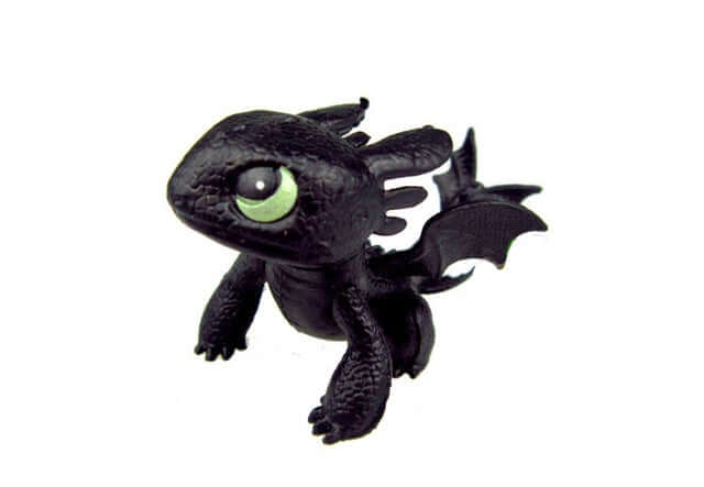 How To Train Your Dragon Night Fury Toothless Action Figure - Shop For Gamers