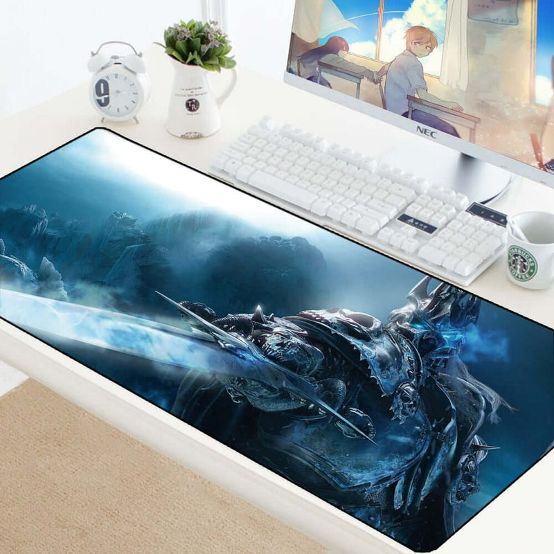 Large Mouse pad Solid Color Extended Table mat Special Surface for Increased Speed and Precision 60x30,80x40 AGW Gaming Mouse pad -