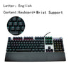 AULA/DGGR 107 Keys Gaming Mechanical Keyboard - Shop For Gamers