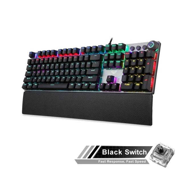 AULA F2088 Mechanical Gaming Keyboard - Shop For Gamers