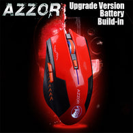 AZZOR Rechargeable 2400 DPI 2.4G Wireless Mouse - Shop For Gamers