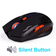 AZZOR CP-149 Rechargeable 1600 DPI Slient Wireless Mouse  - Shop For Gamers