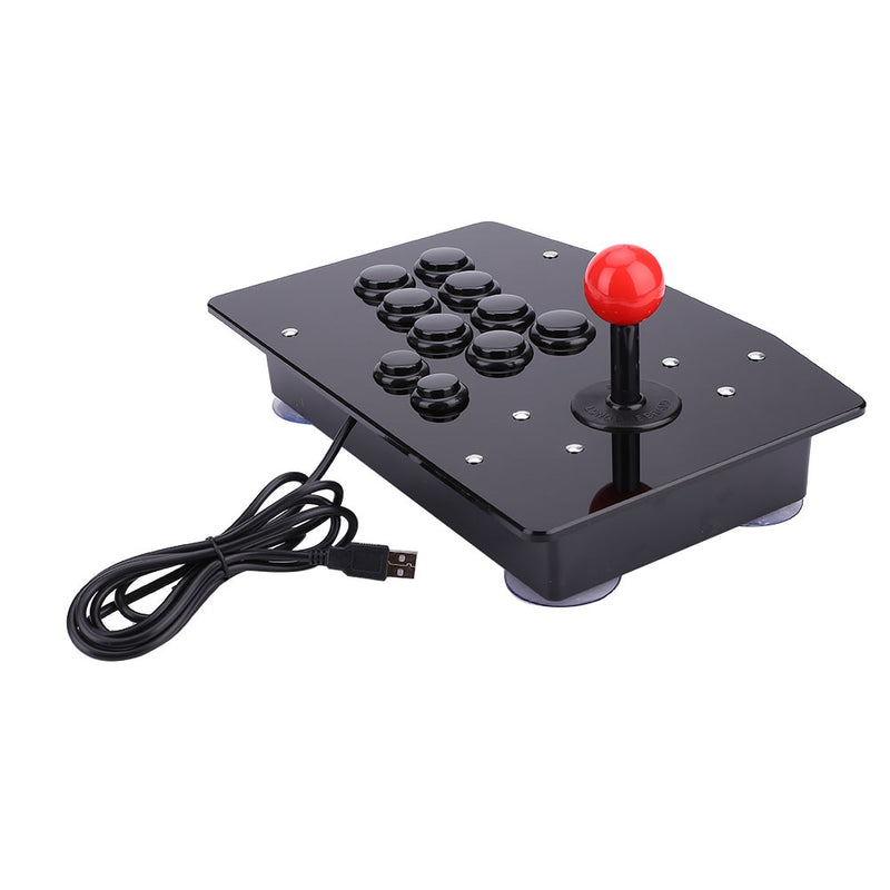 Acrylic Wired USB Arcade Joystick For Fighting Games - Shop For Gamers