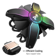 Aigo 120x120x25mm CPU Cooler Fan - Shop For Gamers