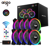 Aigo DR12 Pro Computer PC Case RGB Fan - Shop For Gamers