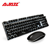 Ajazz A3008 2.4G Wireless Mechanical Keyboard & Mouse - Shop For Gamers
