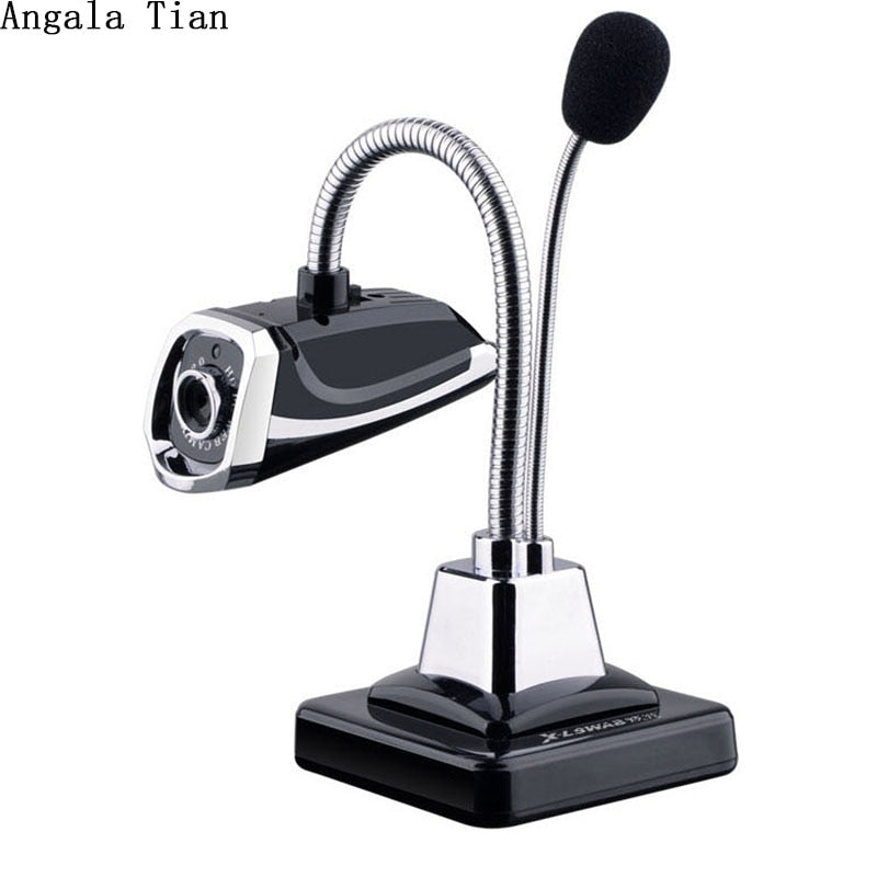 Angala Tian USB Microphone Desktop HD Webcam - Shop For Gamers