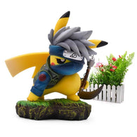 Pikachu Hatake Kakashi Cosplay Action Figure - Shop For Gamers