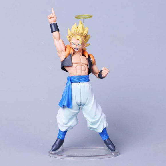 Anime Dragon Ball Z PVC Goku Fusion Angel Action Figure - Shop For Gamers