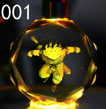 Anime Dragon Ball Z Resin Figure Keychain - Shop For Gamers