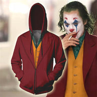 Movie Joker Clown Hoodie - Shop For Gamers
