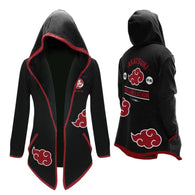 Anime Naruto Akatsuki Cosplay Hoodie - Shop For Gamers