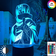Anime Naruto Itachi Uchiha LED Table Lamp - Shop For Gamers