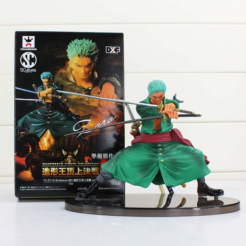 One Piece Roronoa Zoro Sauron PVC Action Figures - Shop For Gamers