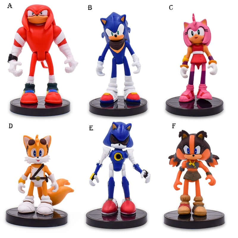 Sonic And Friends PVC Action Figures - Shop For Gamers