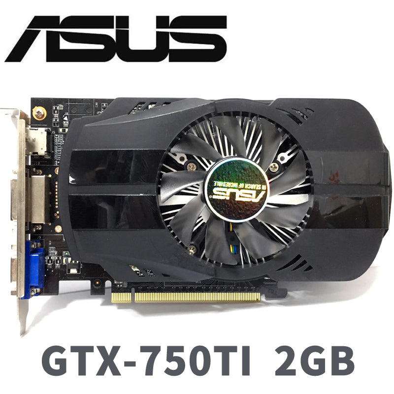 Asus GeForce GTX 750Ti 2GB - Shop For Gamers