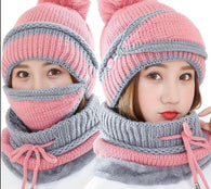 Beanie Hat with Scarf and Mask - Shop For Gamers