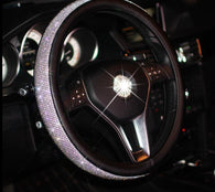 Swarovski Crystal Steering Wheel Cover - Shop For Gamers
