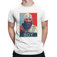 Boy Kratos God Of War Men T-Shirt - Shop For Gamers